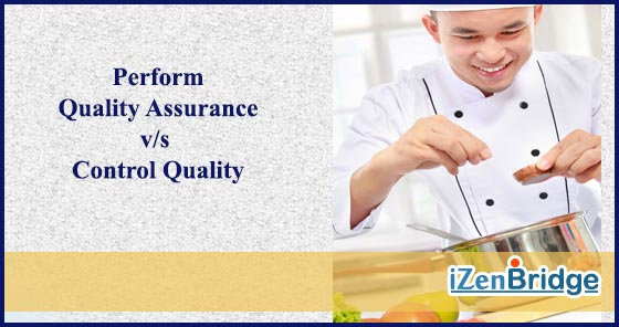 PMP Quality Assurance and Quality Control