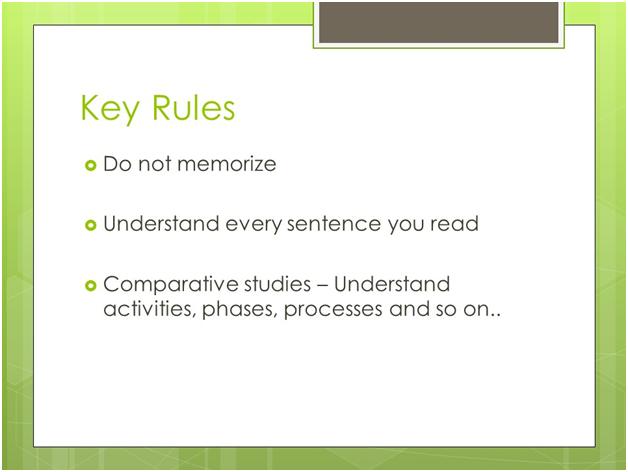 PMI-PBA Key Rule