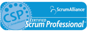 Scrrum Alliance Certified Scrum Professional Logo