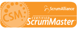 Scrrum Alliance Certified Scrum Master Logo