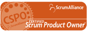 Scrrum Alliance Certified Scrum Product Owner Logo
