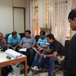 Discussion led by Saket during Coaching Workshop