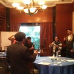 Coaching discussion in ACC delhi