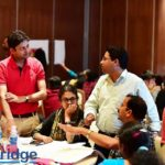 Participants Discussing in CSM Bangalore16