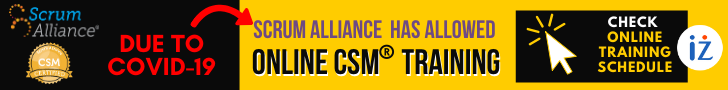 scrum alliance allowed online csm training