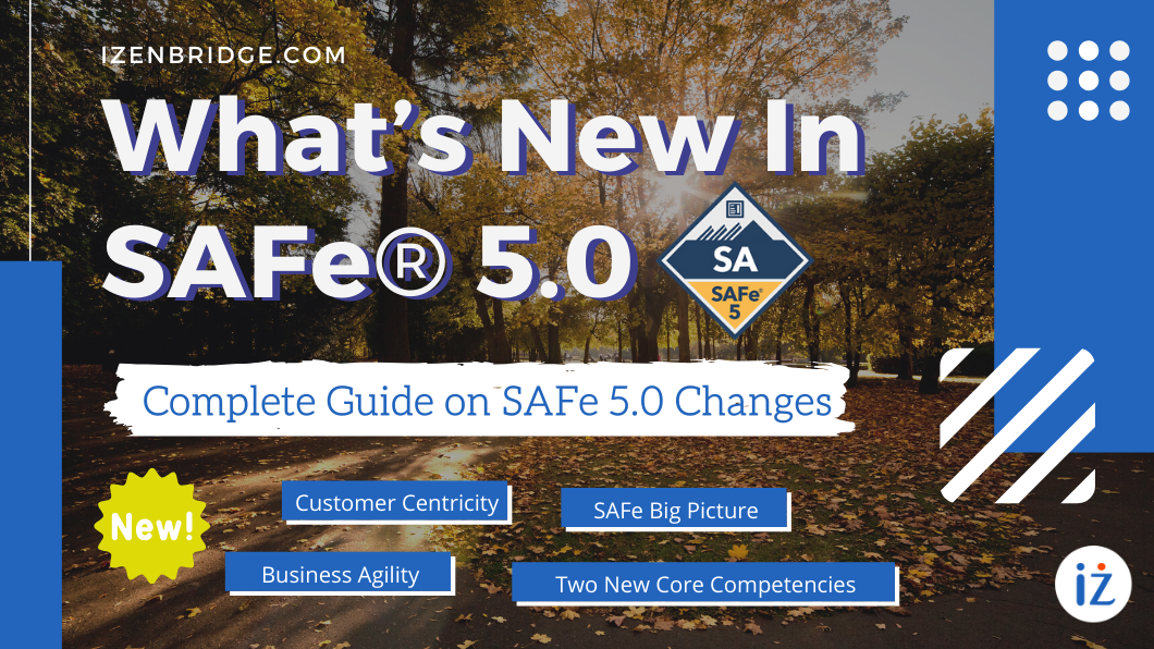 What's New In SAFe 5.0